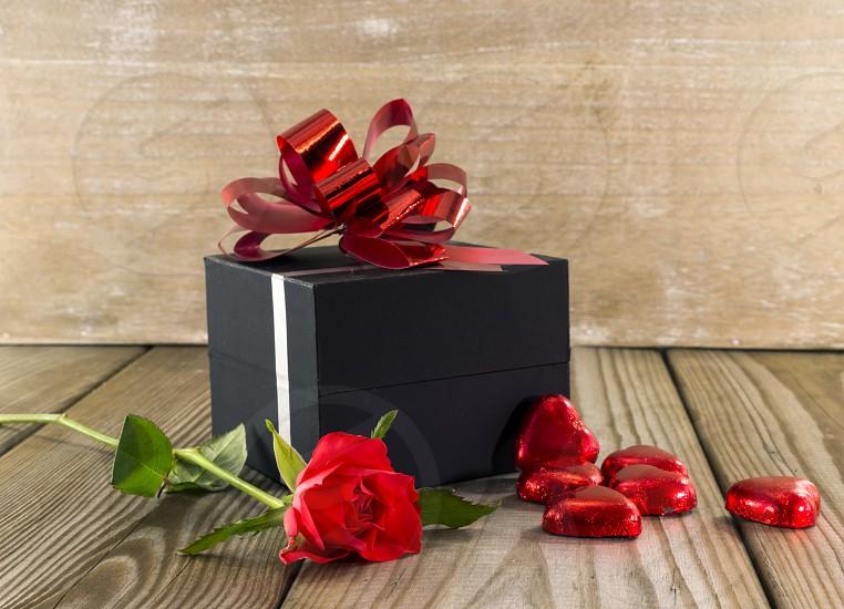 black box present present photo
