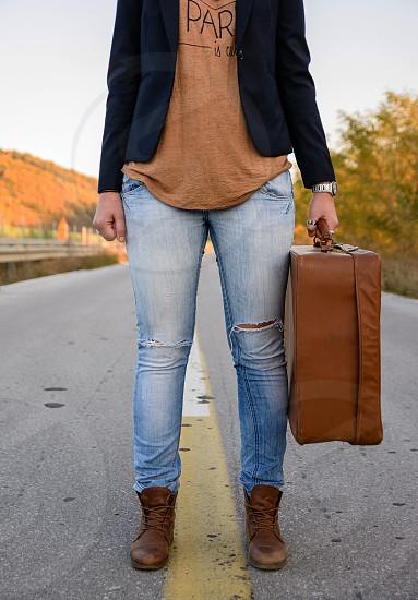 Fall fashion photo