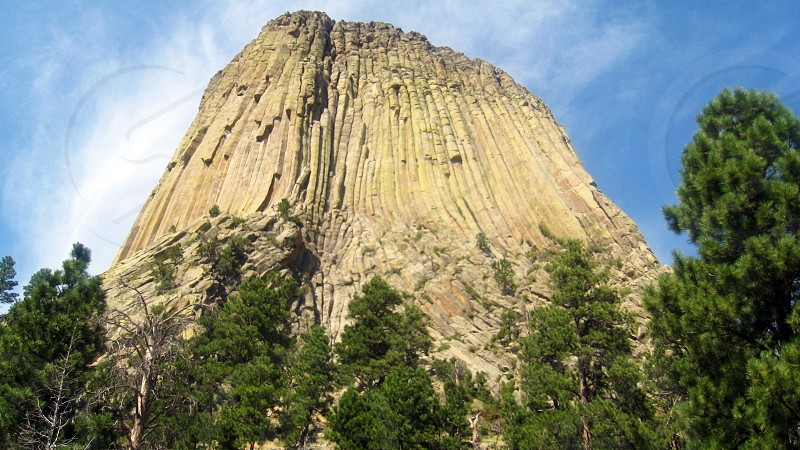 Devil's Tower National Monument in Wyoming photo