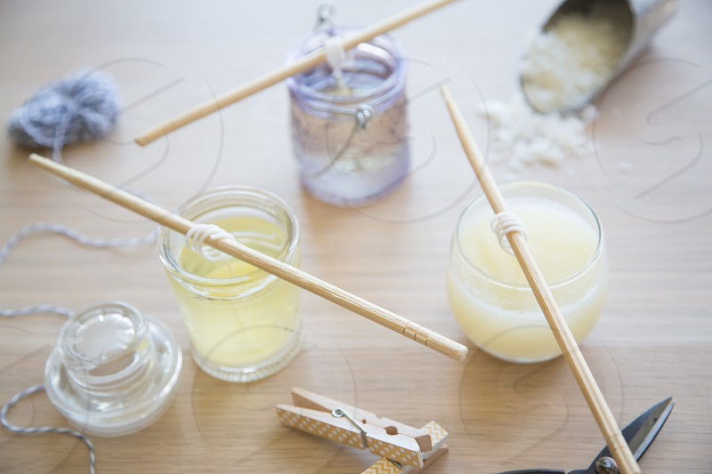 Candle making photo