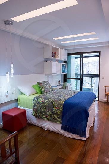 Cool bedroom modern bedroom . photo