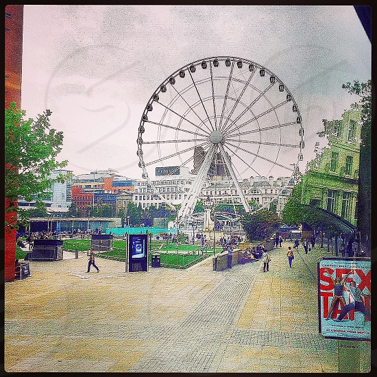 Wheel of Manchester Manchester UK                Tip: Don't let the weather fool you it is extremely erratic! photo