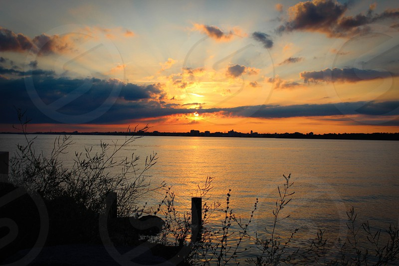 Wolfe Island Ontario Canada on the St. Lawrence River photo