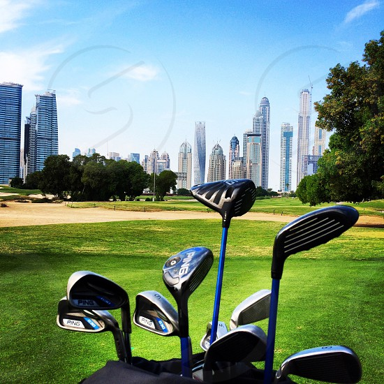 dubai Emirates golf club  photo