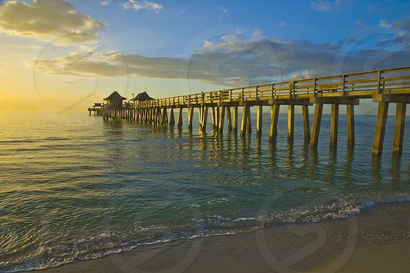 Fishing Pier Naples FL photo