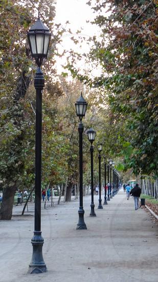 Parque Florestal Santiago Chile photo