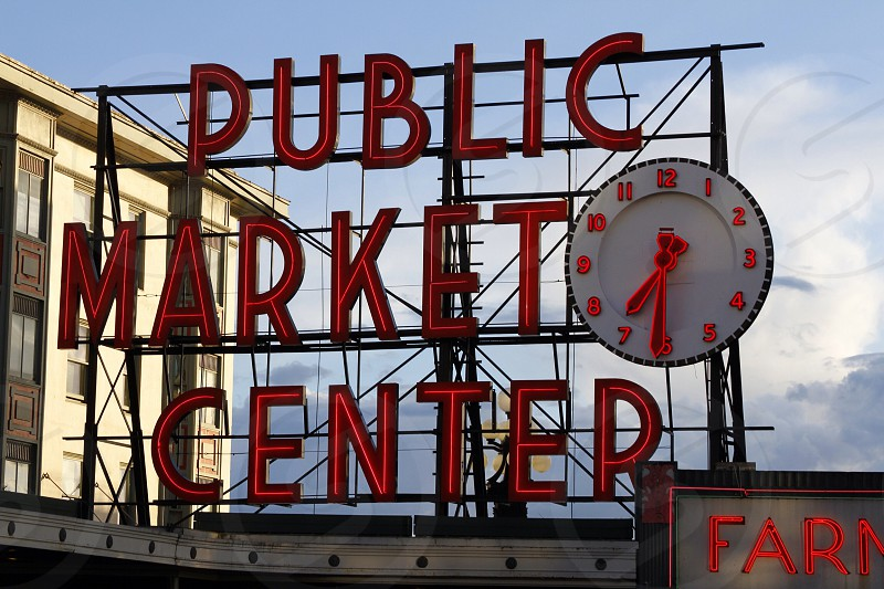 Seattle Public Market photo
