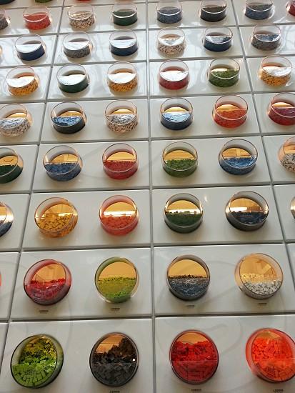 lego bricks on display photo