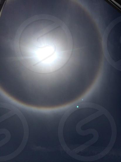 Ring around the sun photo