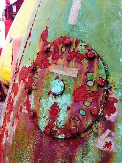 Buoy colourful  photo