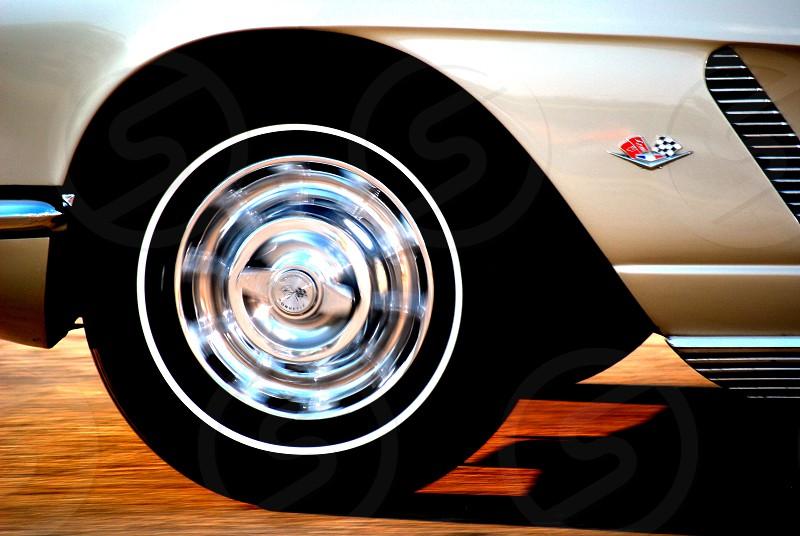 black rubber tire photo
