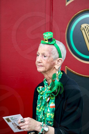 Old and new celebrate St Patrick's Day photo