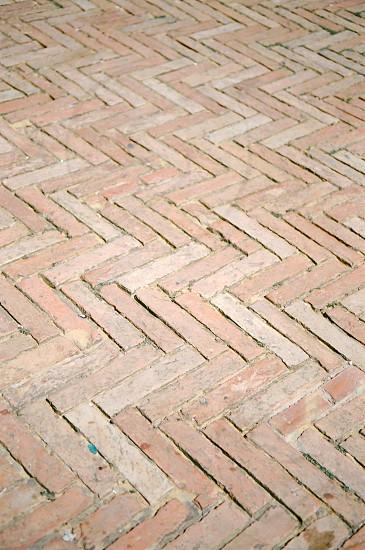 brown chevron floor tiles photo