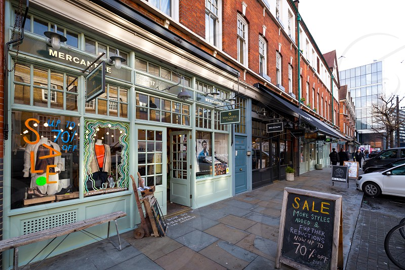 Cool shops around the Truman Brewery warehouses London  photo