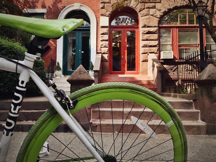 Bike on Green. (Philadelphia PA) photo