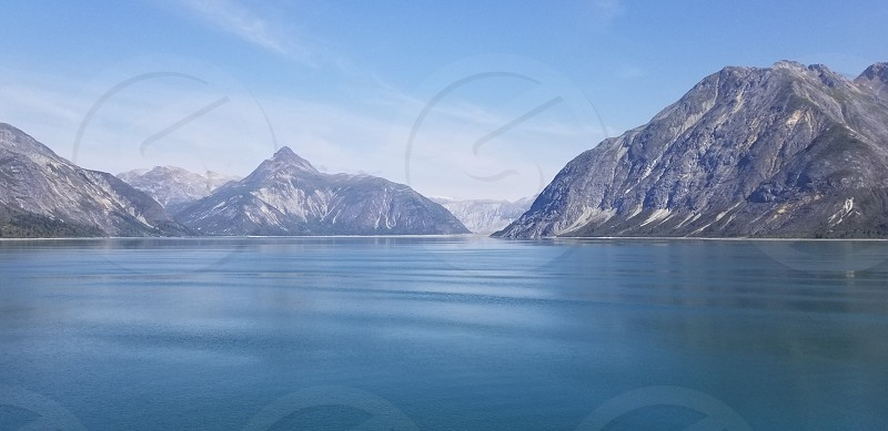 Mountains and Glaciers Alaska photo