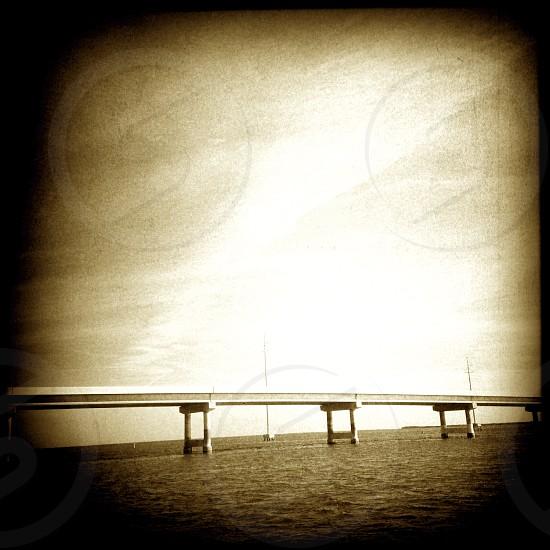 bridge in key west florida USA photo