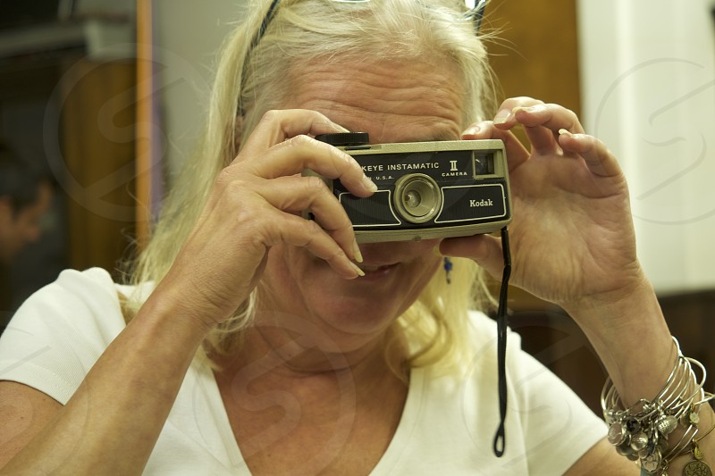 Lifestyle Active Senior Blonde         photo