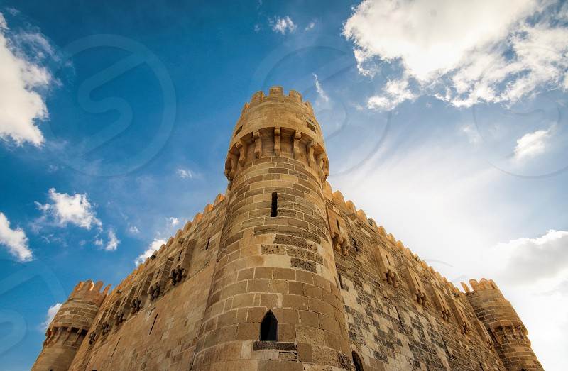 Qaitbai Citadel Alexandria Egypt photo
