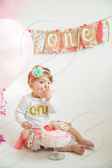1st Birthday Cake Smash photo