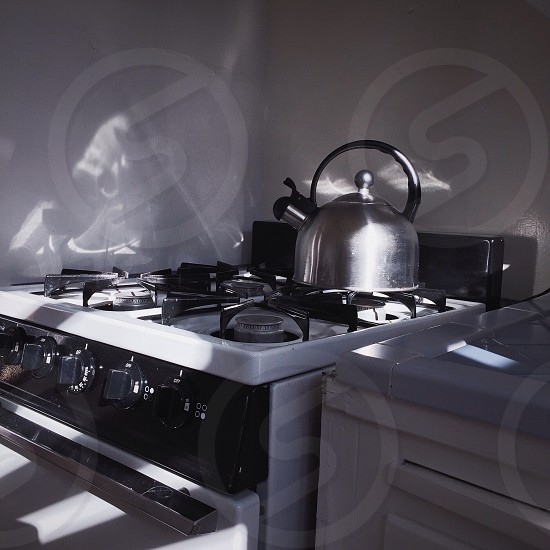 Stove in the sunlight photo