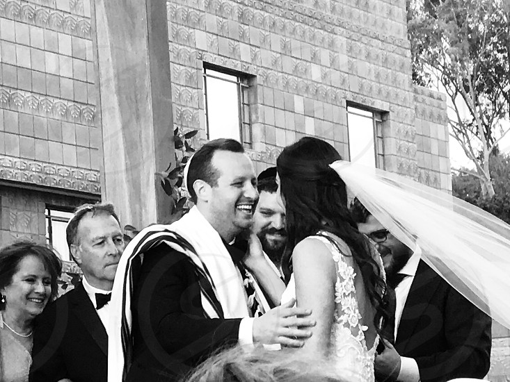 Wedding  traditionJewish  family  photo