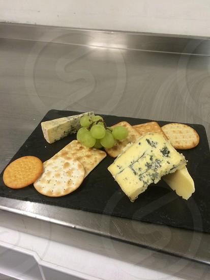 Nice cheese board selection.  photo