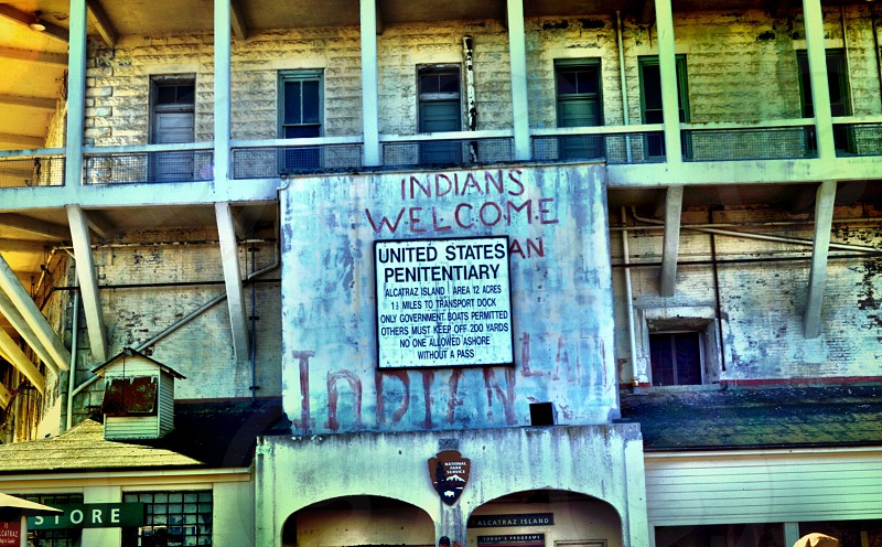 Entry to Alcatraz photo
