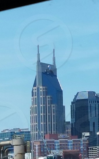 Batman building in Nashville TN photo