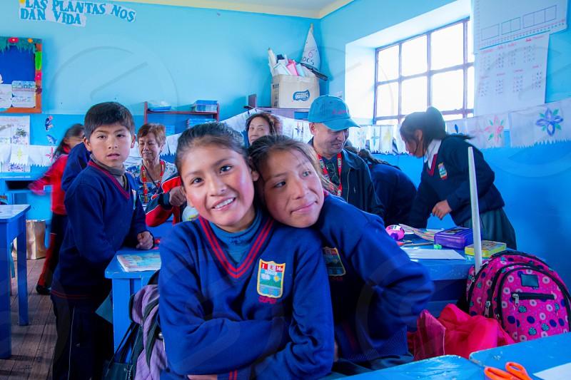 School around the world photo