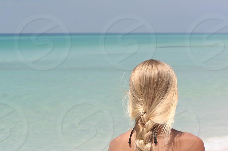 Jana on Destin beach  photo