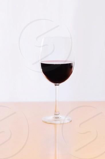 Red wine wine wine glass drink Bordeaux  photo