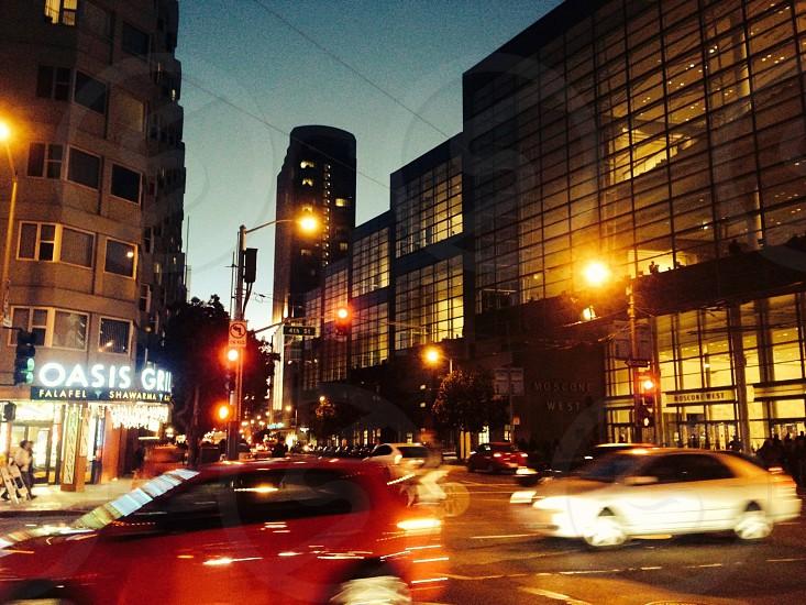 San Fransisco at night.  photo