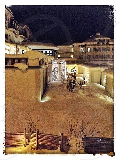 The Kempinski Hotel. St Moritz photo