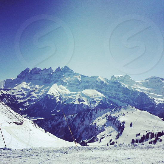French alps photo