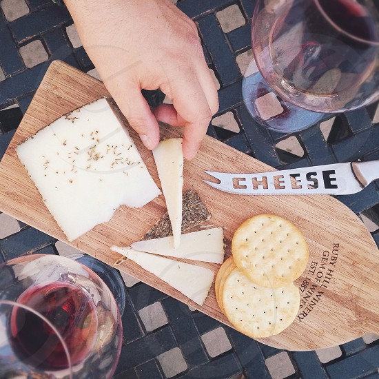 Wine and Cheese photo