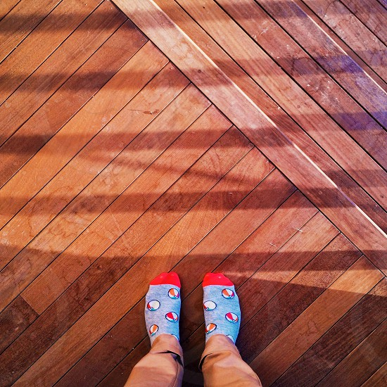 brown wooden flooring photo