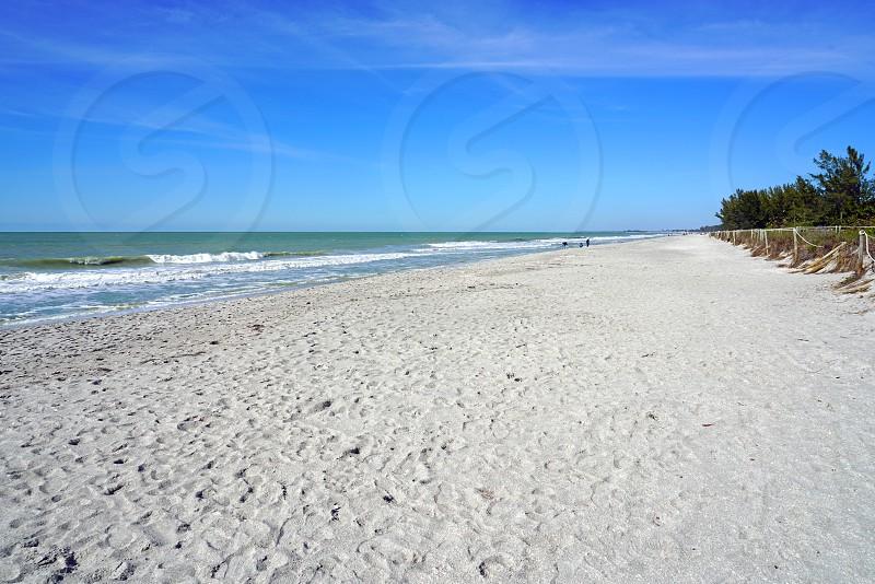 The beach in Captive Island Lee County Florida photo