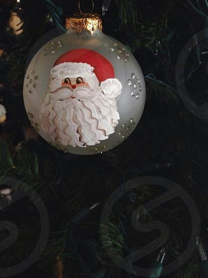 Santa Claus ornament art Christmas tree photo