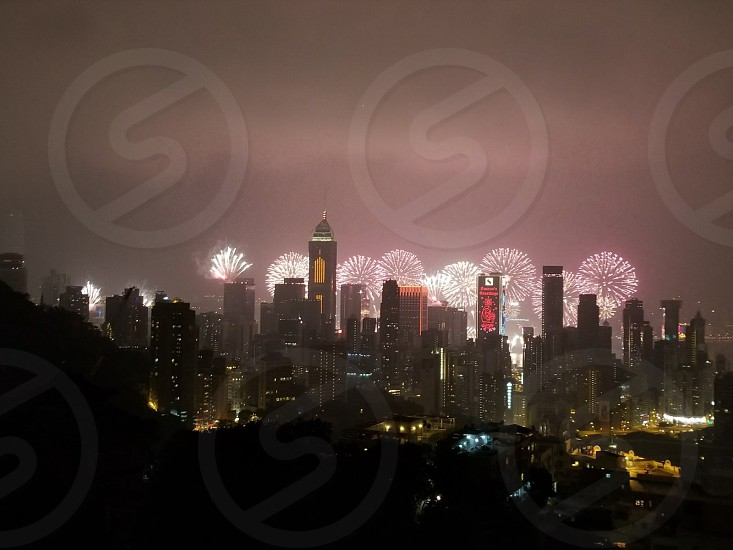 New year in Hongkong - 2018 photo