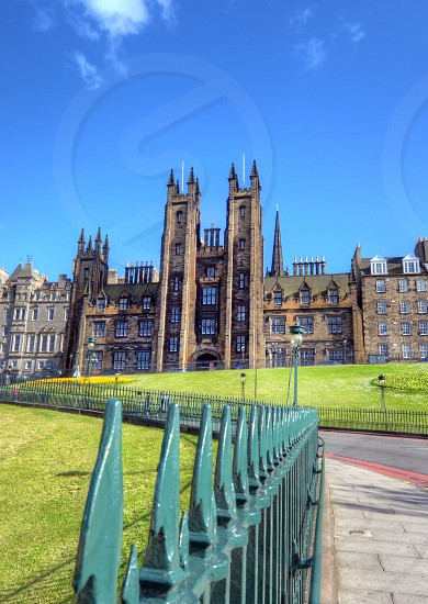 University of Edinburgh in Edinburgh Scotland. photo