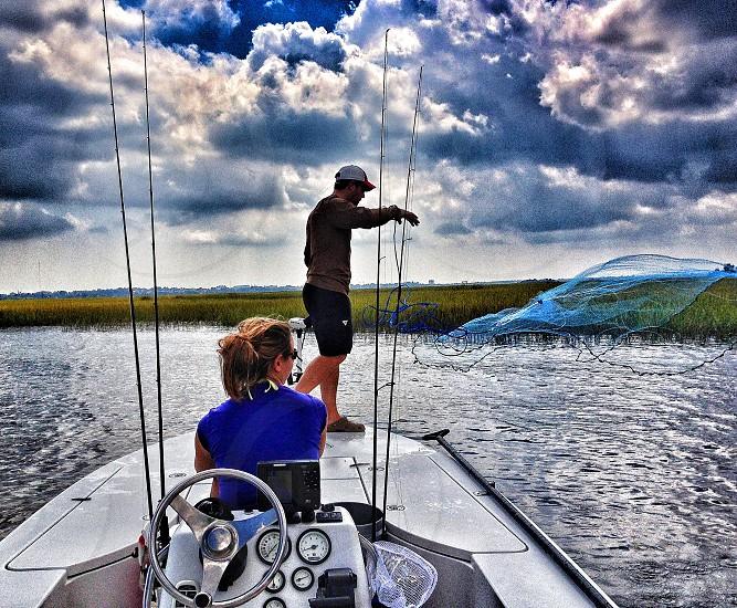 Inshore Fishing Castnet photo