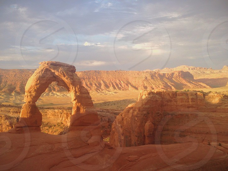 arches monyment utah photo