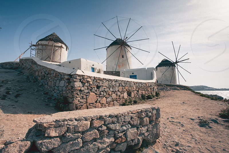 Landscapes and seascapes around Mykonos photo