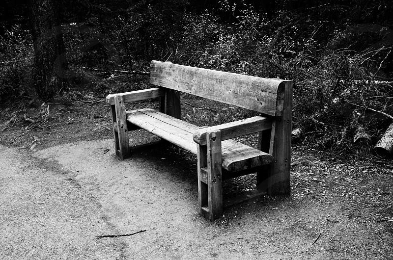 B&W. Chair.  photo