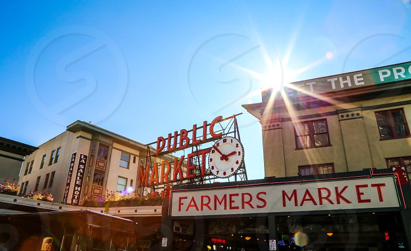 Seattle Pike Place photo