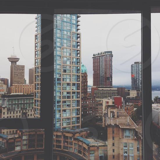 exterior glass window photo