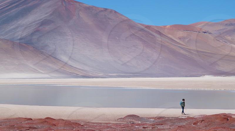 piedras rojas in the Atacama desert photo