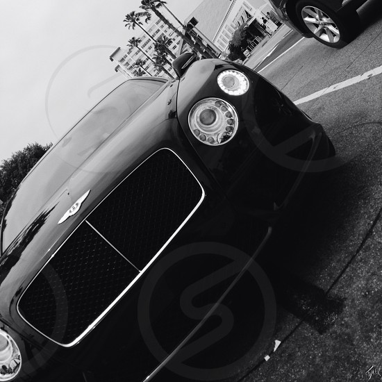 black bently car  photo