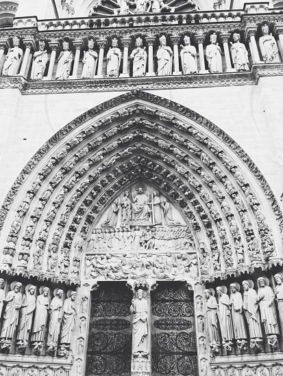 Paris . Cathedral . Religion  photo
